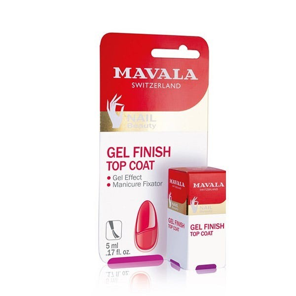 mavala top coat gel