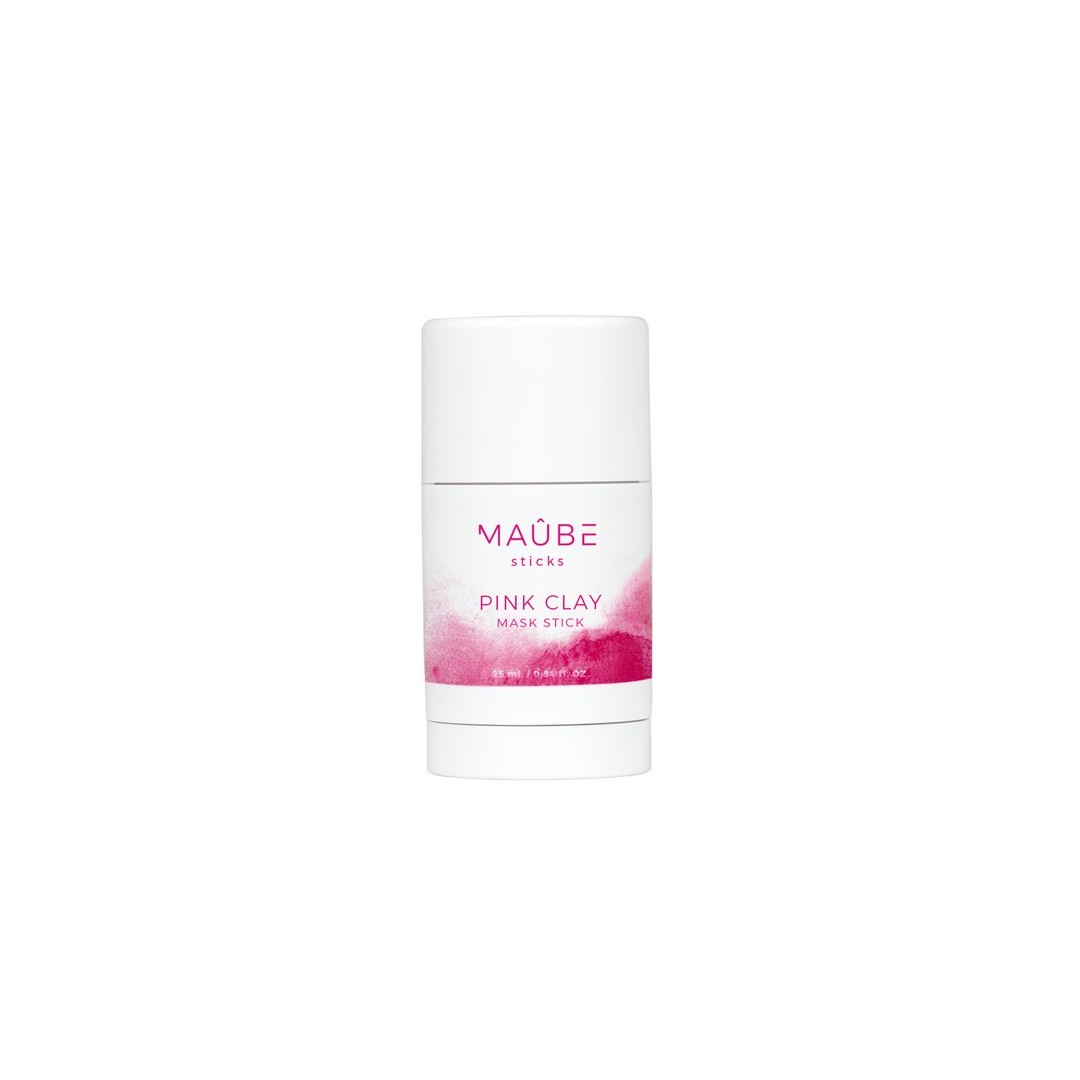 Maube Beauty Pink Clay Mask Stick - Mascarilla de Arcilla