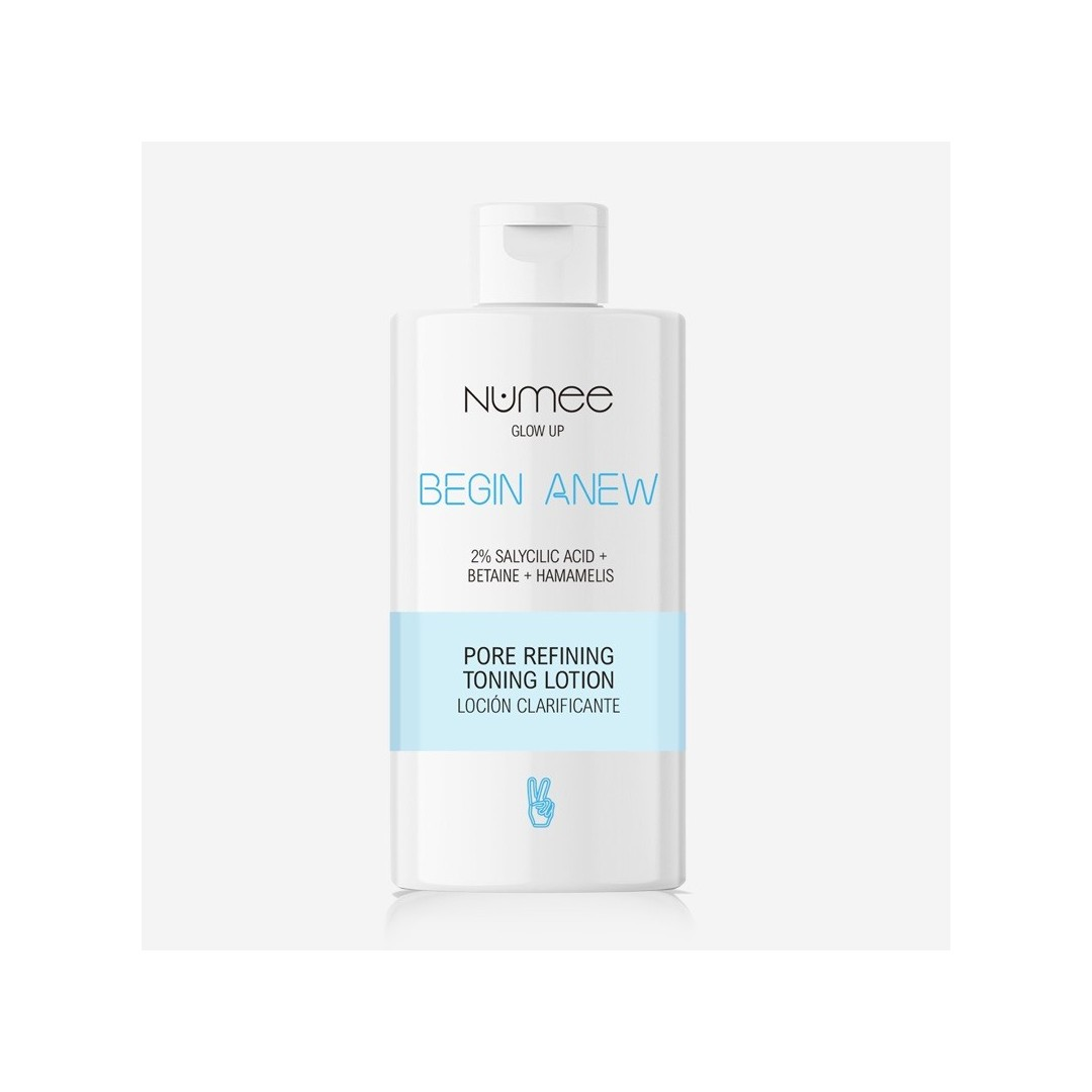 NUMEE BEGIN ANEW Pore Refining Toning Lotion