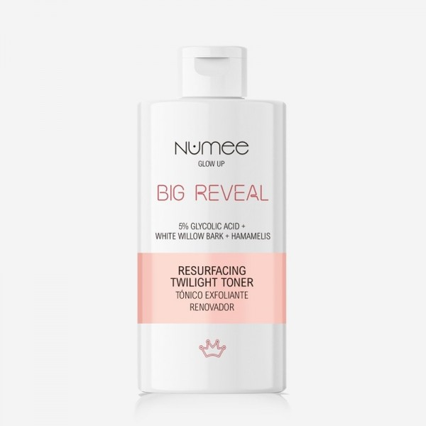 NUMEE BIG REVEAL Resurfacing Twilight Toner