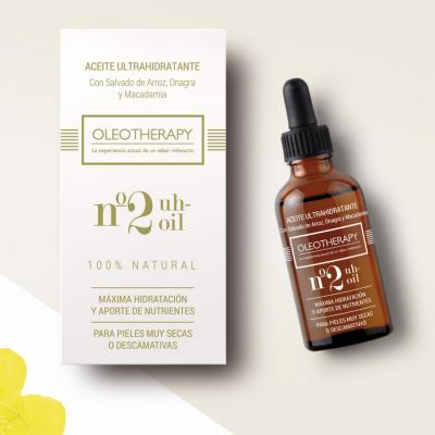 OLEOTHERAPY Nº2 Aceite Ultra Hidratante con Onagra y Macadamia