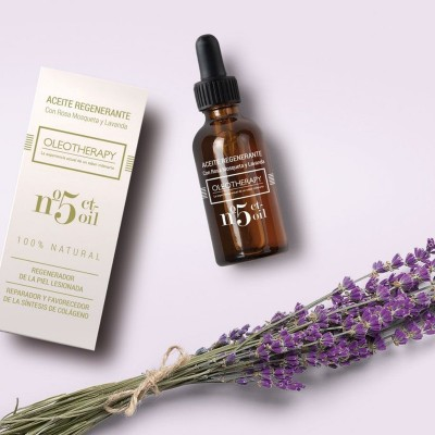 oleotherapy aceite Nº5 Aceite Regenerante con Rosa Mosqueta y Lavanda