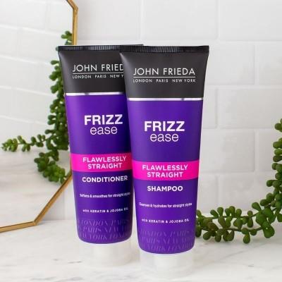 JOHN FRIEDA Pack Liso Perfecto Frizz Ease (Champú + Acondicionador)