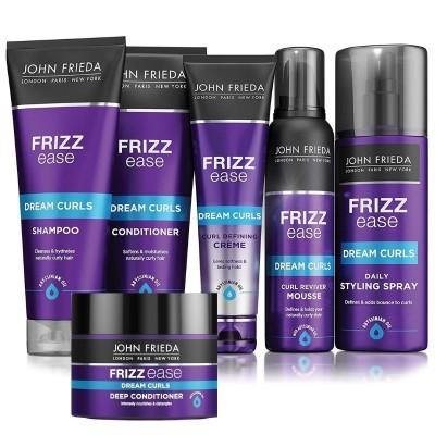 JOHN FRIEDA Pack Rizos Definidos Frizz Ease (Champú + Acondicionador)