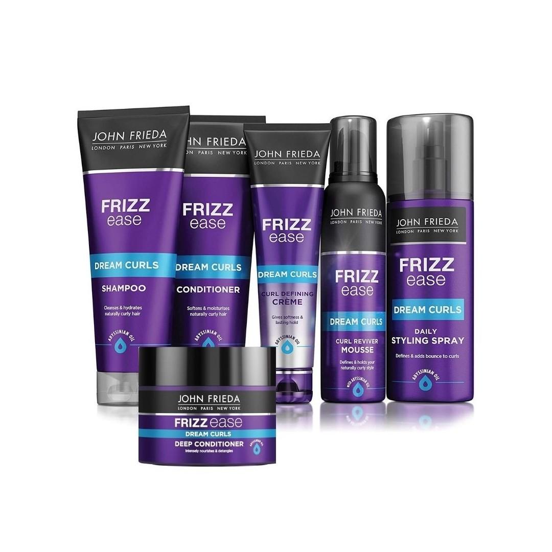 JOHN FRIEDA Pack Rizos Definidos Frizz Ease (Gama Completa)